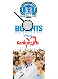BENEFITS OF CARDIOFORLIFE BROCHURE - 25 pack